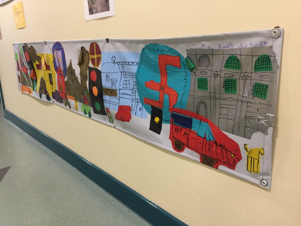 Belgrave Road art collage 2